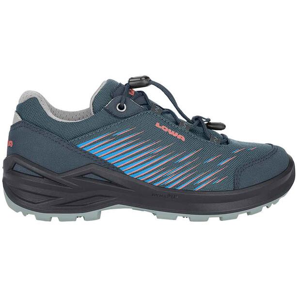 Lowa Zirrox GTX Low-Cut Schuhe Kinder blau/pink
