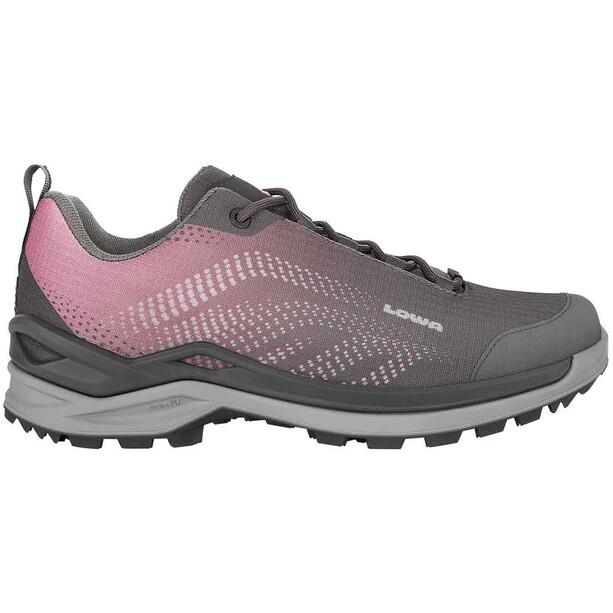 Lowa Zirrox GTX Low-Cut Schuhe Damen anthracite/brownrose