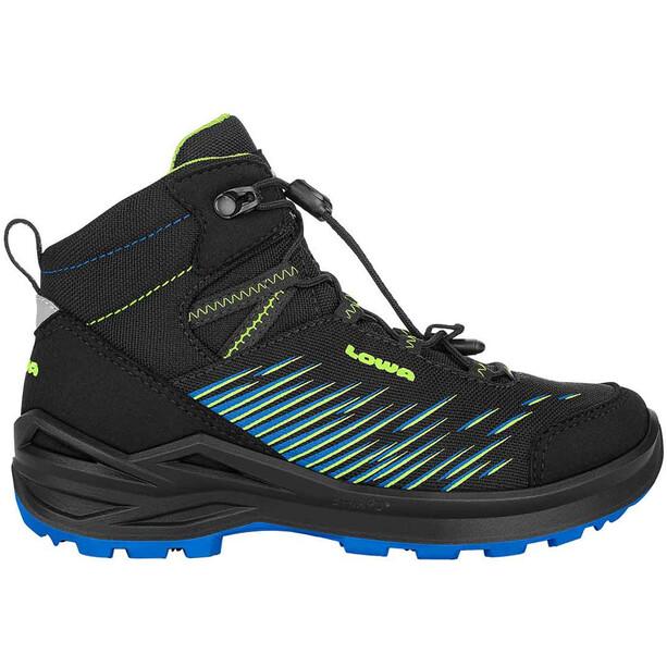 Lowa Zirrox GTX Mid-Cut Schuhe Kinder black/lime