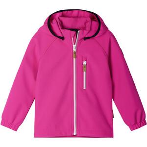 Reima Vantti Softshell Jacket Barn pink pink