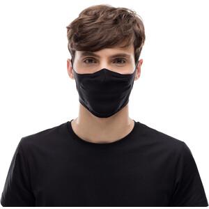 Buff Filter Mask solid black solid black