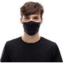 Buff Filter Mask solid black