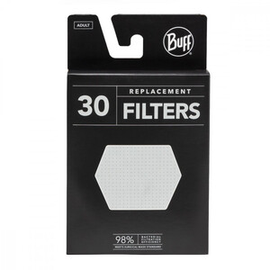 Buff Face Mask Filter Pack 30 Pieces