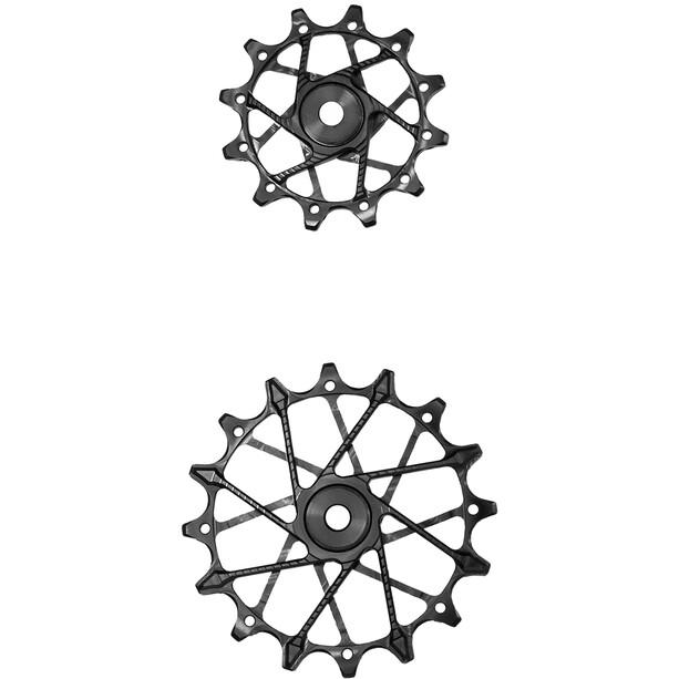 Garbaruk Remskiver til bageste skifter 11-trins 11 + 14T til Shimano Standard Cage, sort