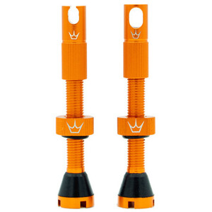 Peaty's X Chris King MK2 Tubeless Ventile 42mm orange orange