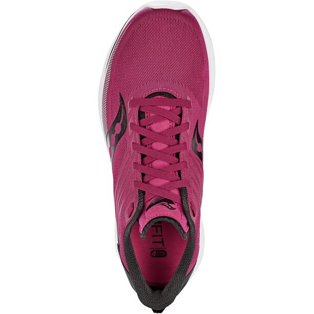 saucony Kinvara 12 Shoes Women, cherry/silver