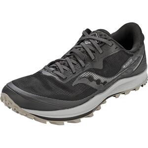 saucony Peregrine 11 GTX Shoes Men, negro/gris negro/gris