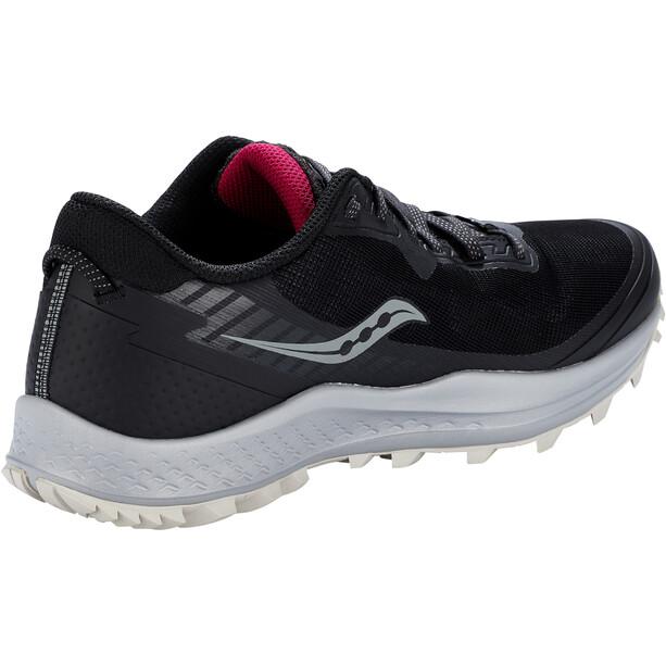 saucony Peregrine 11 GTX Schuhe Damen schwarz/grau