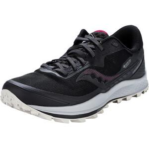 saucony Peregrine 11 GTX Shoes Women, noir/gris noir/gris