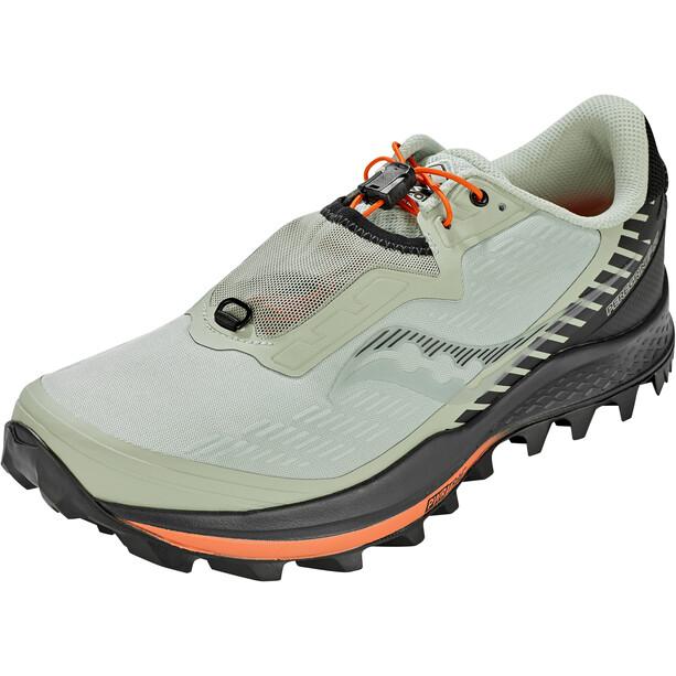 saucony Peregrine 11 ST Schuhe Herren grau/schwarz