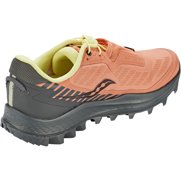saucony Peregrine 11 ST Shoes Women, rust/charcoal