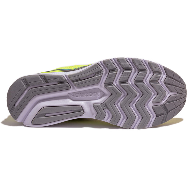 saucony Ride 14 Shoes Men, citrus/black