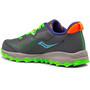 saucony S-Peregrine 11 Shield Shoes Boys, harmaa/vihreä