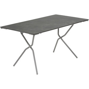 Lafuma Mobilier Anytime Table 140x80cm, gris gris
