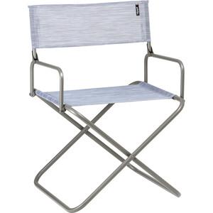 Lafuma Mobilier FGX XL Silla Apoyabrazos Camping Texplast, gris gris
