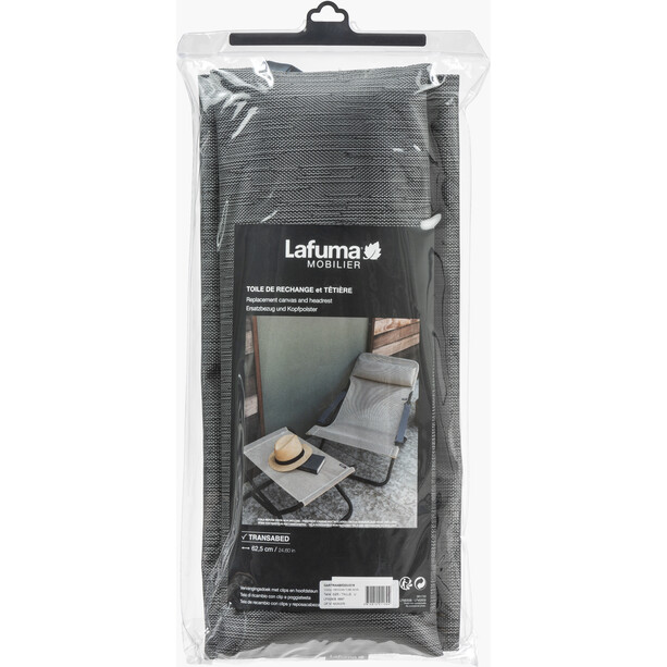 Lafuma Mobilier Spare Cover Set für Transabed Batyline Duo grau