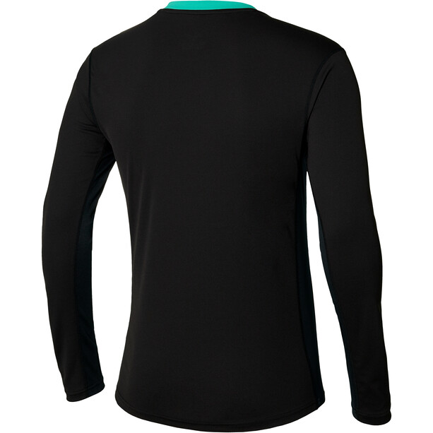 Mizuno Alpha Sun Protect Langarmshirt Herren black