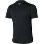 Mizuno Core Mizuno Graphic T-Shirt Herren black