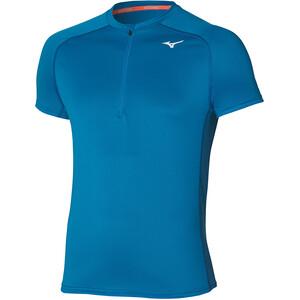 Mizuno ER Trail Half Zip T-Shirt Herren blau blau