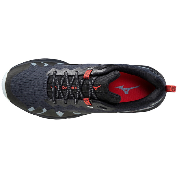 Mizuno Wave Daichi 6 Shoes Men, india ink/black/ignition red