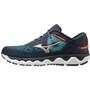 Mizuno Wave Horizon 5 Shoes Men, india ink/platinum gold/mykonos blue