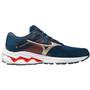 Mizuno Wave Inspire 17 Schuhe Herren india ink/platinum gold/ignition red