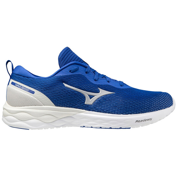 Mizuno Wave Revolt Schuhe Herren blau/weiß