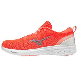 Mizuno Wave Revolt Schuhe Damen orange/weiß orange/weiß