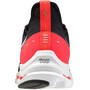 Mizuno Wave Rider Neo Schuhe Herren black/white/ignition red