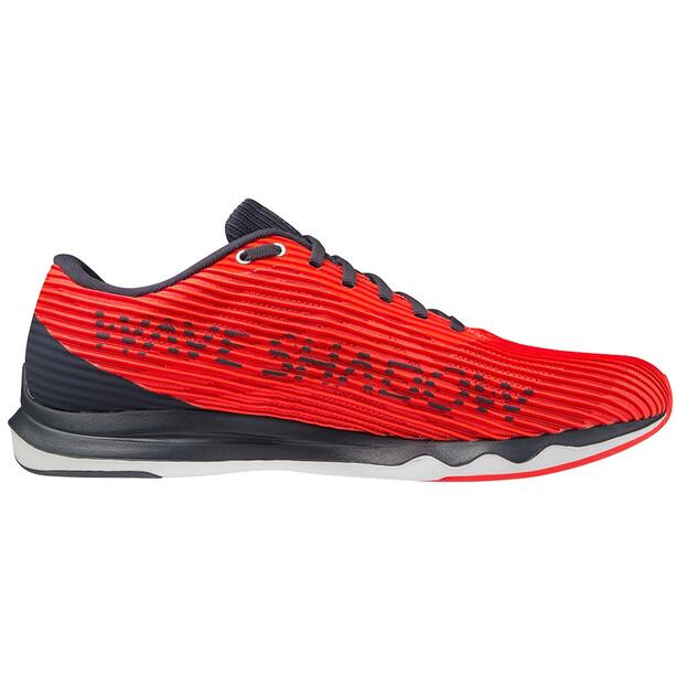Mizuno Wave Shadow 4 Schuhe Herren ignition red/wan blue/india ink