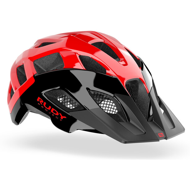 Rudy Project Crossway Helm black/red shiny