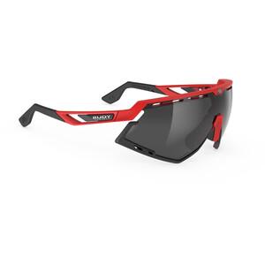 Rudy Project Defender Brille rot/schwarz rot/schwarz