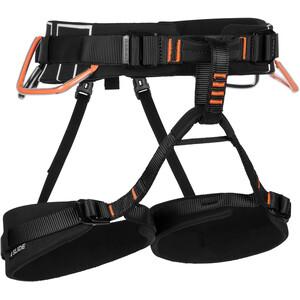 Mammut 4 Slide Harness, noir/orange noir/orange