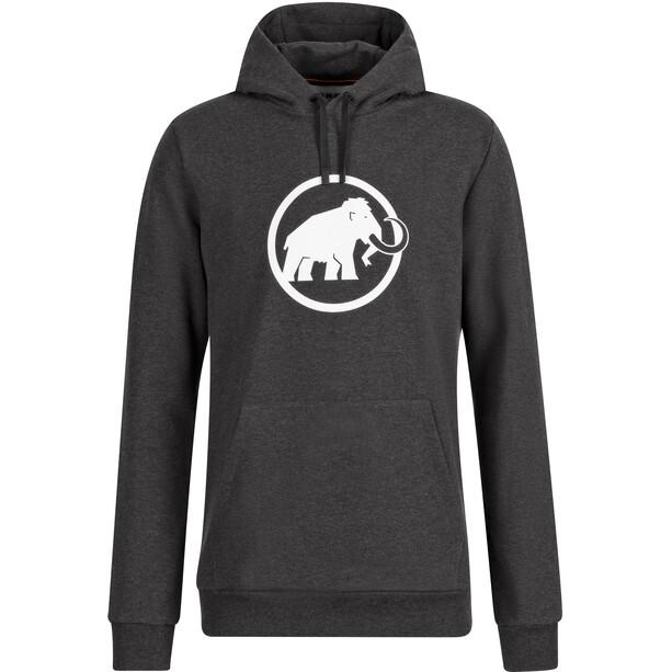 Mammut Logo Midlayer Hoodie Herren schwarz