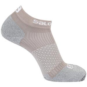 Salomon Cross Pro Socks, beige/gris beige/gris