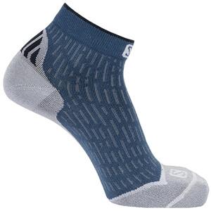 Salomon Ultra Knöchelhohe Socken blau/grau blau/grau