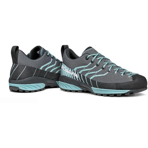 Scarpa Mescalito Knit Schuhe Damen gray/aqua