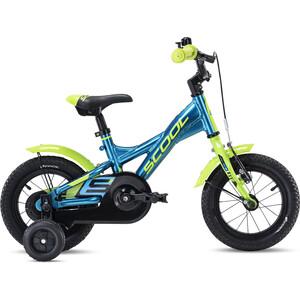 s'cool XXlite alloy 12 2. Wahl Kids blue/lemon metalic blue/lemon metalic