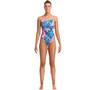 Funkita Eco Diamond Back Swimsuit Women flerfärgad