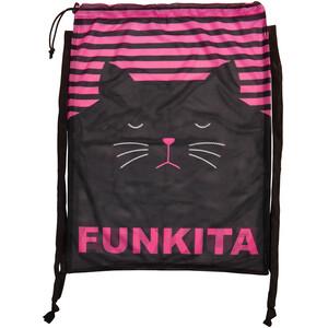 Funkita Mesh Gear Tasche Damen schwarz/pink schwarz/pink