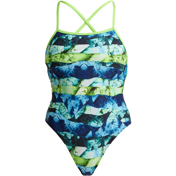 Funkita Strapped In Badeanzug Damen icy iceland