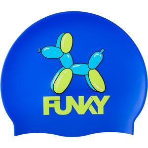 Funky Trunks Silicone Swimming Cap Lapset, sininen sininen
