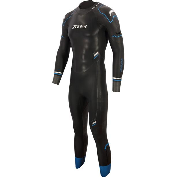 Zone3 Advance Wetsuit Herren black/blue/gun metal