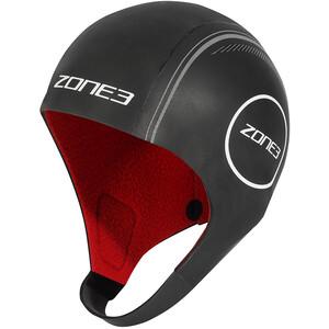 Zone3 Heat-Tech Neoprene Swim Cap M, noir noir