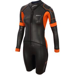Zone3 Versa Swimrun Wetsuit Damen schwarz/orange schwarz/orange