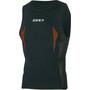 Zone3 Swim Run Oberteil black/orange