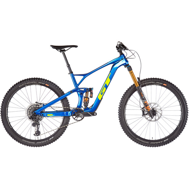 "GT Bicycles Force Carbon Pro 27.5"" 2. Wahl gloss team blue"
