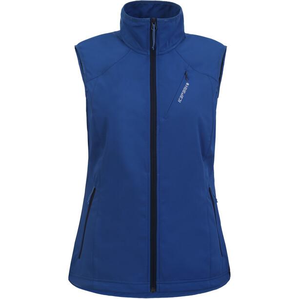 Icepeak Brush Softshell Vest Women, sininen