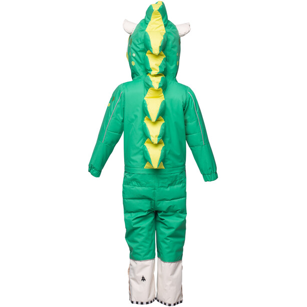 WeeDo Mondo Monster Schneeanzug Kinder green