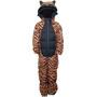WeeDo Tigerdo Tiger Schneeanzug Kinder braun/schwarz